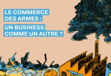 couverture BD commerce armes