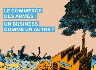 couverture BD commerce armes