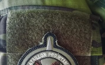 Crédit photo : blason du 1er Bataillon pilote projetable ivoirien (Benjamin Vokar/OBG)