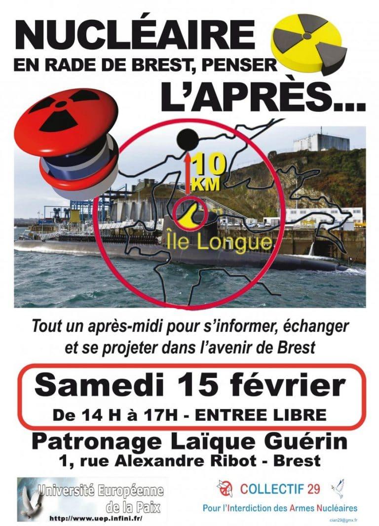 Conférence sur les armes nucléaires (Brest – 15/02)