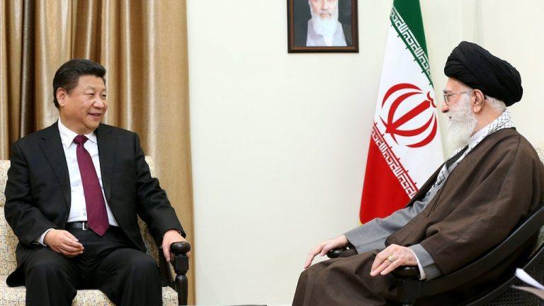 La Chine, le pari risqué du régime iranien (L'Echo)