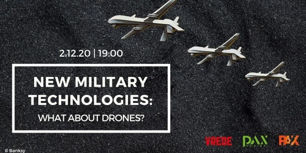 New Military Technologies: What About Drones? (Webinar, 2 déc. 19h)