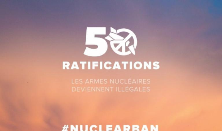 «Au rebut, les armes nucléaires» (Le Vif)