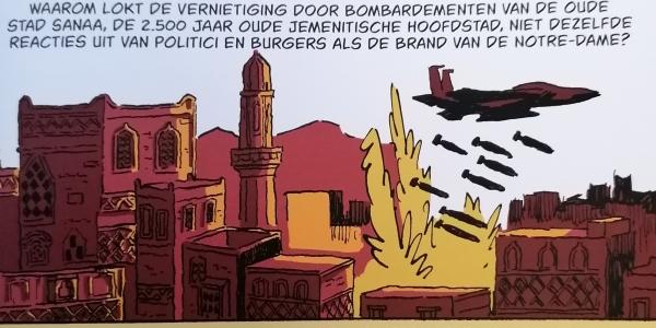 "Vrede vzw promeut la bande dessinée du GRIP ""Wapenhandel, een business zoals alle andere?"""
