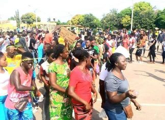 Manifestation contre le 3e mandat de Ouattara