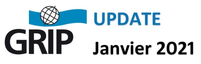 Update du GRIP – Janvier 2021